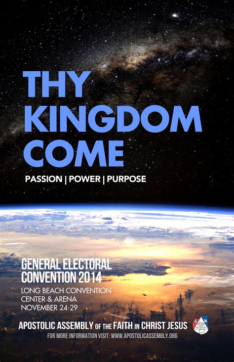 convention poster convention 2014 apostolic assembly of the faith in jesus