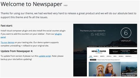 Theme Newspaper By Tagdiv 2015 | 6 monate tagdiv wordpress theme quot newspaper quot test news