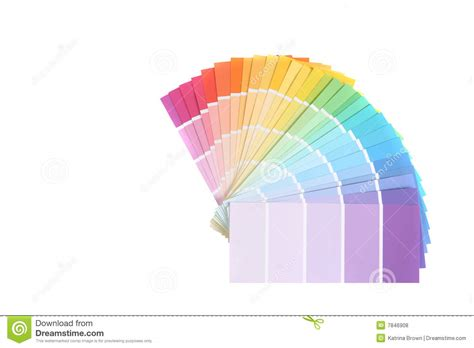 color swatches of paint sles for remodeling stock photo image 7846908