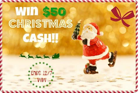 Christmas Cash Sweepstakes - christmas cash giveaway win 50 this weekend only
