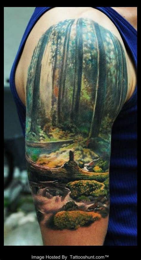 nature quarter sleeve tattoo nature tattoo sleeve on pinterest realistic tattoo