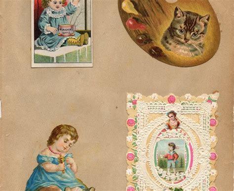 altered heart works freebies for you second vintage leaping frog designs victorian scrap book free images