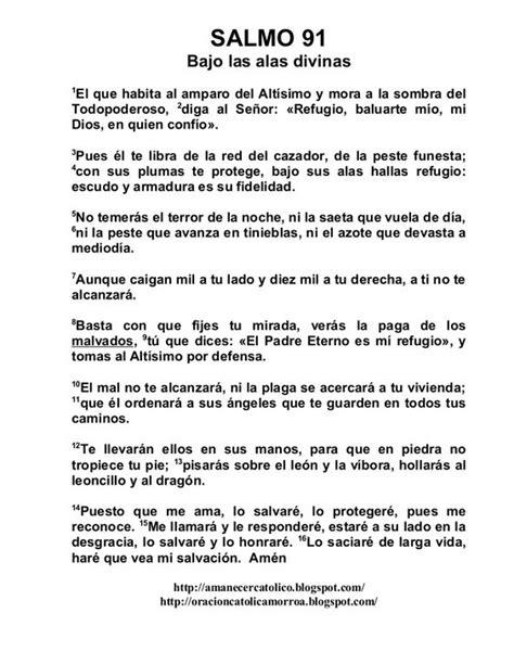 salmo 91 en espanol newhairstylesformen2014 com salmo 91 buscar con google cit s pinterest pesquisa