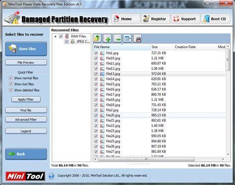 drive recovery software minitool power data recovery hard drive recovery software