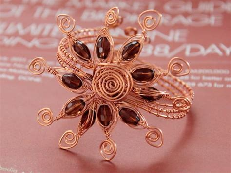 wire jewelry patterns these 7 wire weaving patterns will wow you
