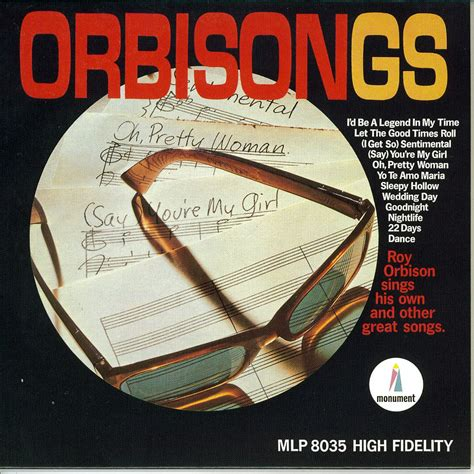 Album Roy orbisongs roy orbison mp3 buy tracklist