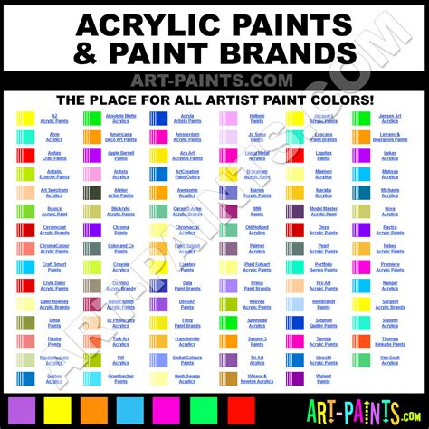 paint colors acrylic acrylic paint color mixing guide