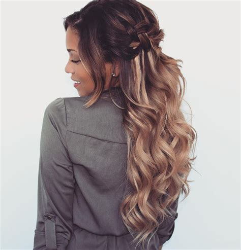 ways to wear long hair after 50 133 best 50 ways to wear curls everyday images on