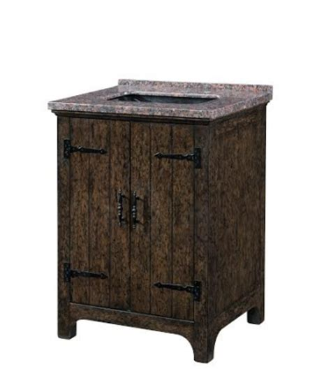 28 inch single sink bathroom vanity with a distressed