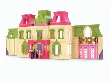 doll house amazon amazon com fisher price loving family dream dollhouse with caucasian family toys games