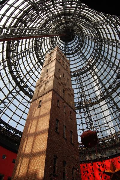 melbourne central shopping shot tower