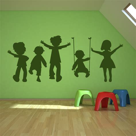 childrens wall sticker pin by ans de kort on stencils silhouette voorbeelden enz pintere