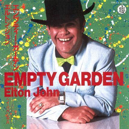 elton john empty garden elton john empty garden hey hey johnny 1982