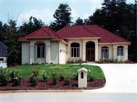 spanish style home plans spanish mediterranean style homes small mediterranean