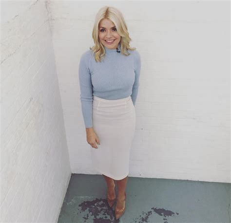 celebrity juice last week holly willoughby wears 163 650 skirt again on this morning