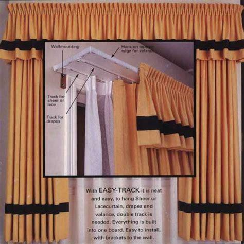 curtain tracks com easy track curtain tracks
