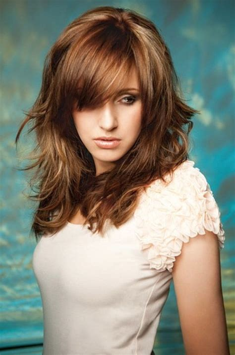 age 53 long layered hair styles the 25 best layered hairstyles ideas on pinterest long