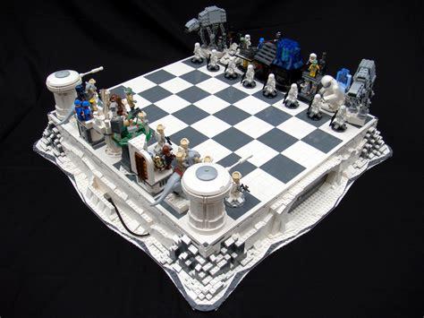 star wars chess sets lego star wars chess sets are swankier than vader s vinyl