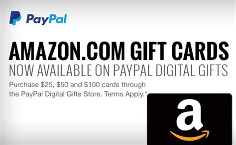 Does Amazon Buy Gift Cards - you can now buy amazon com gift cards from paypal tamebay