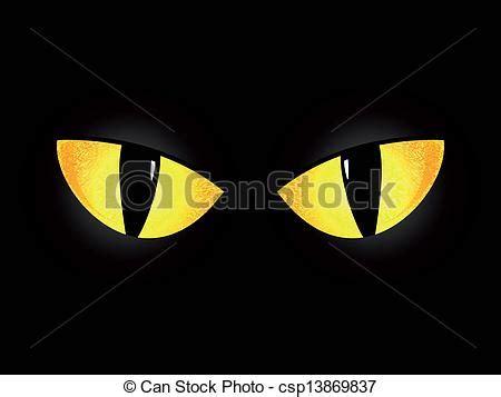 imagenes de ojos halloween vectores de ojos negro gato ojos de un negro gato