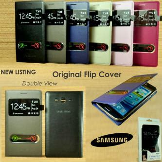 Flipshell Leather Ume Advan S4 flip cover view mega samsung grand grosir aksesoris hp