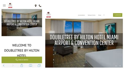 theme hotel near miami airport getting friendly with mobile optimizing the website