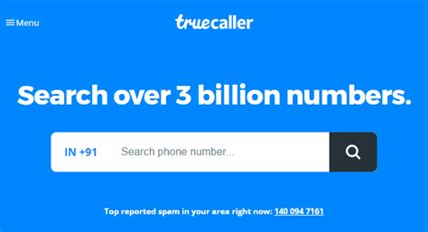 Truecaller Lookup How To Trace Mobile Number Details With Name Address 2018
