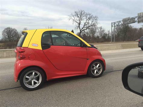 cars like smart car this smart car s paint was made to look like a