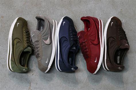 Sepatu Nike Cortez Black Textile nike cortez classic sp textile corduroy sneakers actus