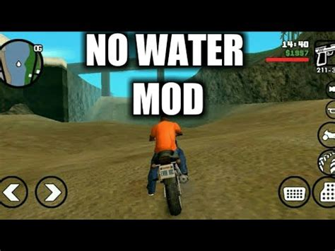 tutorial android mod no water mod gta san andreas android tutorial with