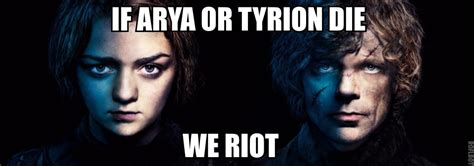 Arya Meme - arya and tyrion game of thrones know your meme