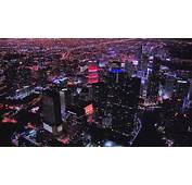 Miami Aerials  Night HD Stock Footage Best Shot