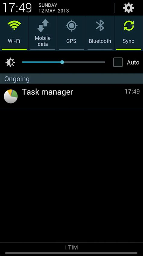 task manager top bar missing task manager s4 shortcut pro android apps on google play