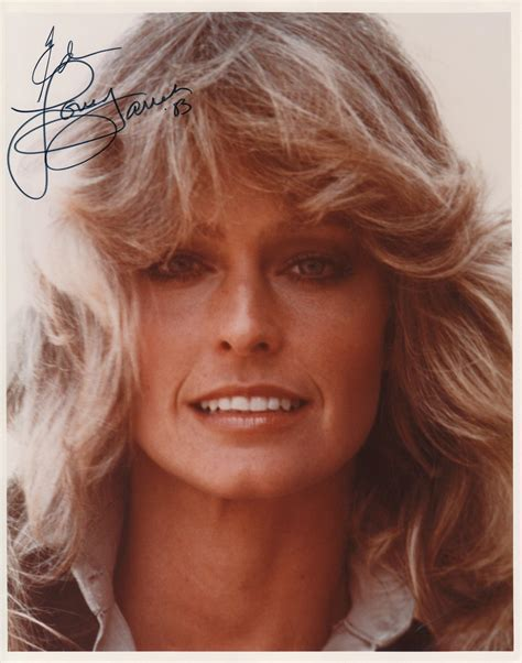 Farah Faucet by Farrah Fawcett Signed 8 X 10 Color Photograph