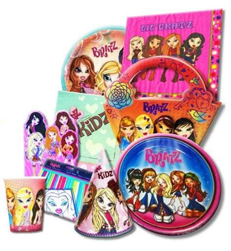 themes only party supplies 13 best images about bratz birthday party theme on