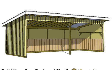 lean  shed plans storage shed plans
