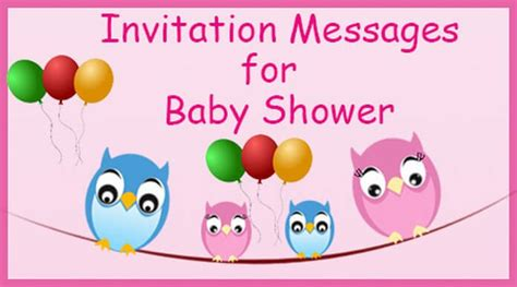Baby Shower Invitation Message by Invitation Messages For Baby Shower Invitation Wordings Sle