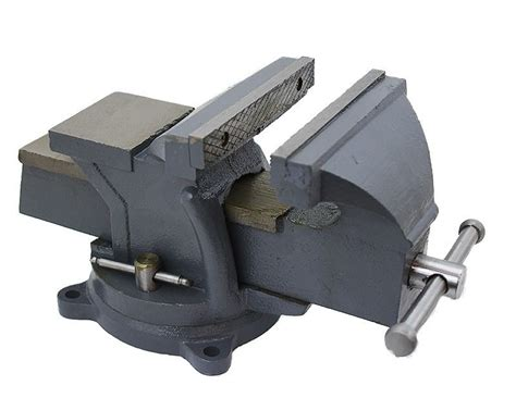 6 bench vise 6 quot bench vise cl tabletop vises swivel locking base