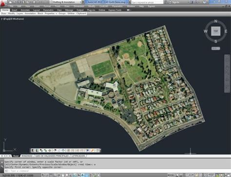 section lines on google earth how to use google earth and autocad together
