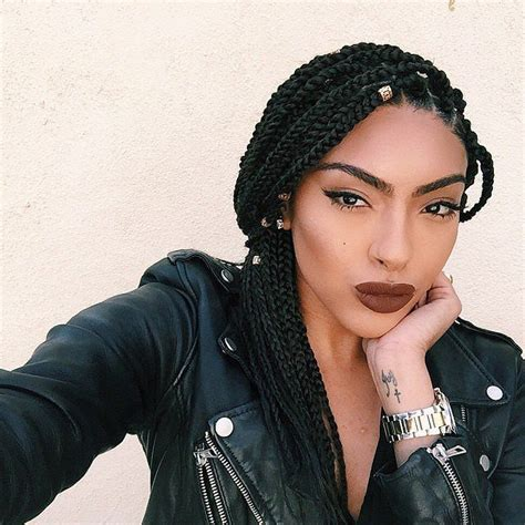 Hairstyle For Black On Vacation by The Ultimate Guide To Summer Braids For Black