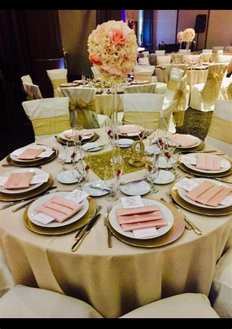gold blush wedding decor wedding decoration bravobride
