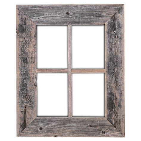 Wood Frame by Rustic Decor Rustic Window Barn Wood Frames Not For