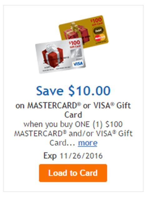 Kroger Visa Gift Card - 10 off visa mastercard gift cards at kroger subsidiaries frequent miler