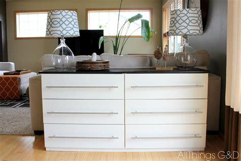 malm sideboard ikea tarva transformed into a kitchen sideboard all