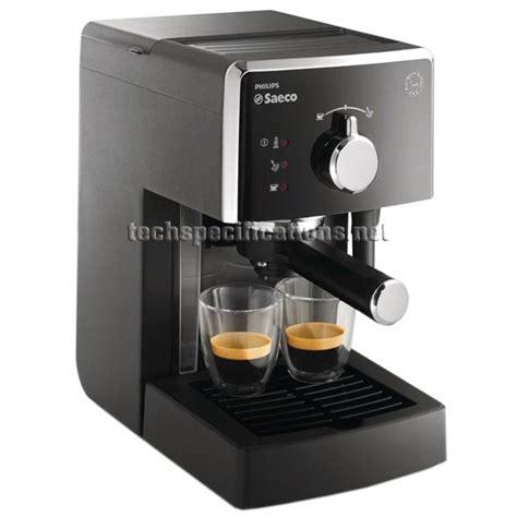 saeco espresso machine manual saeco poemia hd8323 manual espresso machine tech specs