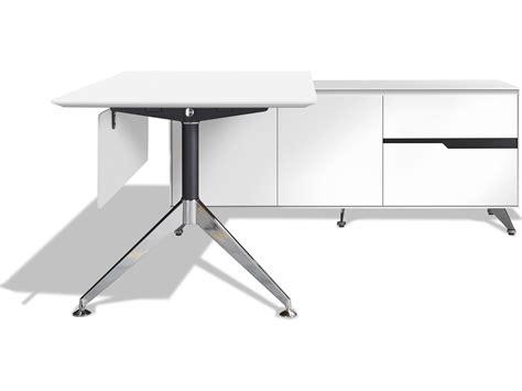 Decorative Desk L by Unique Furniture 400 Series 77 X 73 White L Shape Desk