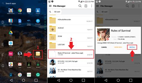 format obb adalah cara menginstall xapk di smartphone android yang mudah
