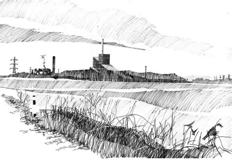 line drawing sketches working drawings by alan dunlop architect e architect
