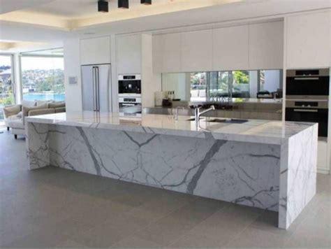 calcutta marble island contemporary kitchen ken calcutta marble countertops in a modern white kitchen