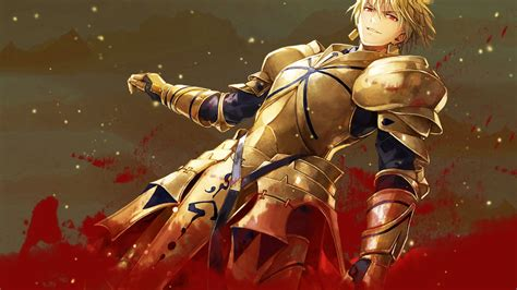 fate stay fate stay goldenking gilgamesh wallpaper 2 by ng9